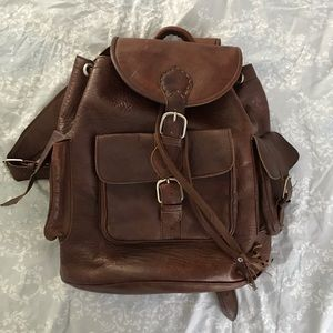 Handbags - NEW stained goat leather backpack ▪️